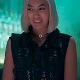 <p><strong>Ana Hikari @_anahikari</strong> também vestiu <strong>colete Zinco</strong> nas gravações da novela Malhação.</p>