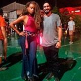<p><strong>Roberta Rodrigues @rorodrigues</strong> vestiu<strong>calça Lebôh </strong>para gravacoes de novo programa.</p>
