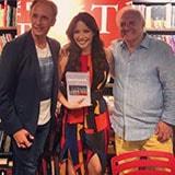 <p>A atriz <strong>Renata Domingues @re_dominguez</strong> postou foto em seu instagram usando <strong>macacão Maria Valentina</strong> em evento.</p>